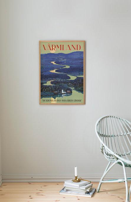 Värmland, Affisch 50×70