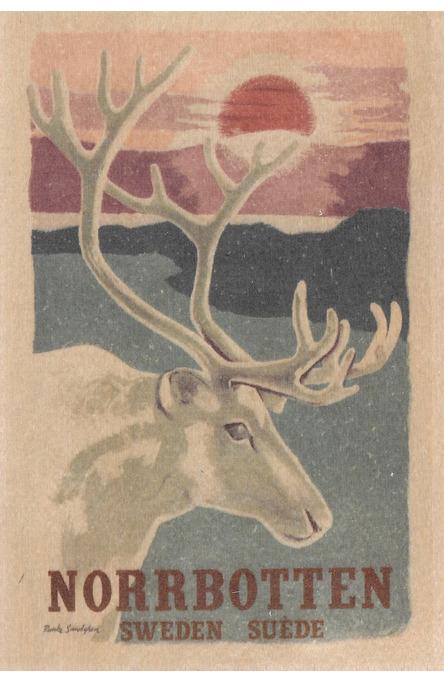 Norrbotten, Träkort