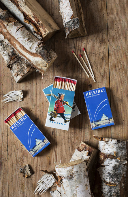Private: Helsinki – Capital of Finland, Extra long safety matches