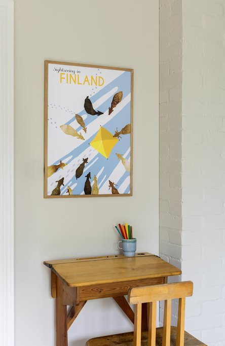 Sightseeing in Finland by Sofie Öhland, Poster 50 x 70 cm (on demand print)