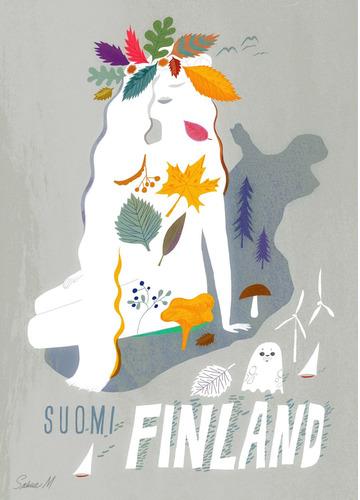 Suomi-Finland by Sanna Mander