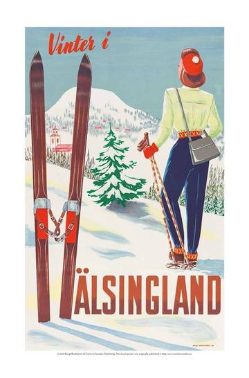 Vinter i Hälsingland