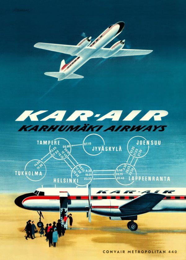 Poster of Karhumäki airways